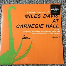 Miles Davis - Miles Davis At Carnegie Hall Volume 1 - New Sealed 180g Vinyl Lp