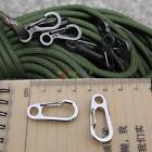 H3E# Carabiner Aluminum Alloy Locking Clip Camping Snap Hook Keychain Climbing