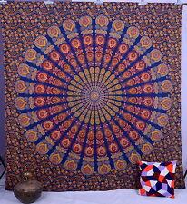 Mandala Indien Hippie Tenture Tapisserie Murale Couvre Lit Ethnique Décoration