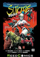SUICIDE SQUAD REBIRTH DELUXE COLLECTION BOOK 3 HARDCOVER Collects (2016) #21-32