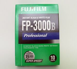 OVP Fujifilm FP-3000B Sofortbild Schwarzweißfilm B&W instant film RARE