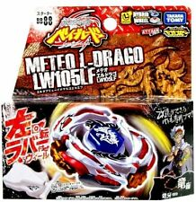 TAKARA TOMY JAPAN BEYBLADE METAL FUSION BB-88 Meteo L Drago+STRING LAUNCHER LEFT
