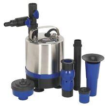 Sealey submersible étang pompe en acier inoxydable 1750ltr / h 230V wpp1750s