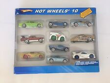 HOT WHEELS 10 Car 2004 Gift Pack EXCLUSIVE DECORATION NIB