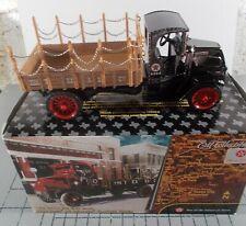 Ertl 1/32 1918 Mack AC Bulldog Flatbed Truck Texaco Bank