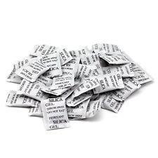 100 pack Kieselgel Ungiftig Trockenmittel Feuchtigkeit Absorber Luftentfeuchter