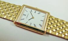 Lassale by Seiko Gold Tone Stainless 5Y30-5L00 White Sample Watch NON-WORKING