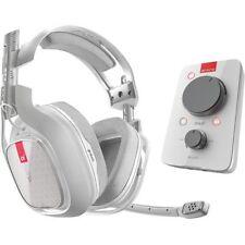 Auriculares blancos para consolas de videojuegos