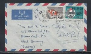 SINGAPORE Commercial Cover Singapore to West Germany 23-3-1966