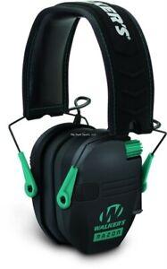 Walker Razor Patriot Electronic Series Slim Earmuff 23 DB Teal/Black GWPRSEMTL