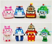 1 PC/4PCS Robocar Poli Toy Transformation Robot Car Toys Robocar Gifts For Kids