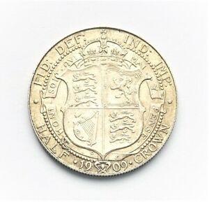 Edward VII 1909 Halfcrown