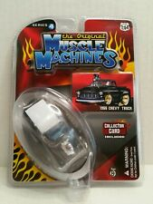 Rare The Original Muscle Machines Series 4 1955 Chevy Truck Chase Black