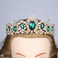 Princess Bridal Wedding Tiara Crown Wedding Alloy Crown Rhinestone Crystal