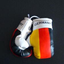 Paar Mini Boxhandschuhe Deutschland Germany für Auto Innenspiegel Kunstleder