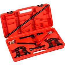 Valve spring compressor kit petrol + diesel engines installer removal tool set