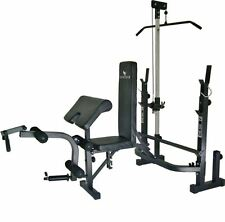 Home Gym Equipment At System Workout Weights Machine Bench Exercise Fitness New