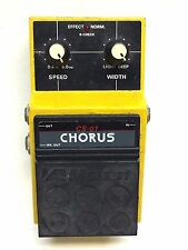 Maxon CS-01, Chorus, Stereo, Analog,  Made In Japan, 80's, Guitar Effect Pedal