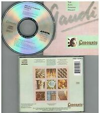 Alan Parsons Project, The ‎– Gaudi,CD Album 1992 PROMO