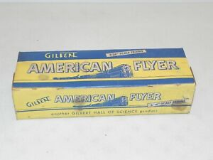 American Flyer S Ga. #702 Curve Track Empty Box