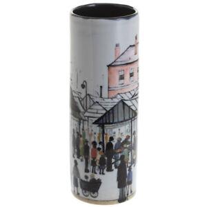 John Beswick Lowry Vase Market Scene Ceramic Flower Vase 18cm Height