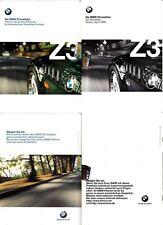 BMW Z3 Roadster 1.8 i  -1.9 i - 2.8 i  M Roadster  Prospekt  Brochure 01 -1998
