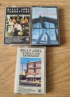Billy Joel Cassette Tape Bundle 3 Albums Job Lot CBS Records