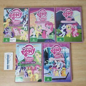 My Little Pony Lot 5 - PAL DVD friendship is magic