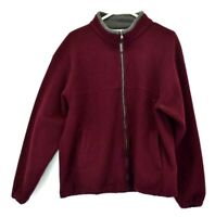 Kelly Sport Women's Medium Vintage Long Sleeve Full Zip Up Fleece Jacket