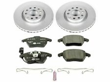 For 2009-2014 Audi TT Quattro Brake Pad and Rotor Kit Front Power Stop 15341YD