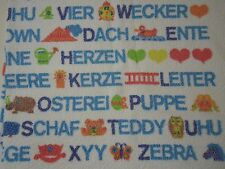 Vintage Kinderbadetuch GRAZIELA Alphabet Buchstaben ABC 70er Jahre