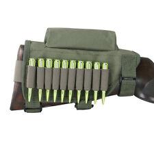 Tourbon Hunting Shooting Rifle Buttstock Cheek Riser Ammo Cartridge Holder Green