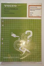 Schaltpläne / Wiring Diagrams Volvo 440 / 460 Ergänzung 1990