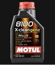 Olio Motore Auto Motul 8100 X-clean gen2 5W40 100% Sintetico dexos2 4 LITRI