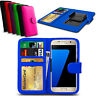 Clip On Series PU Leather Wallet Book Case For ZTE Blade V Plus