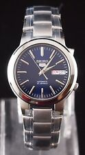 SEIKO 5 SNKA05K1 Stainless Steel Band Automatic Men's Blue Watch 100% New