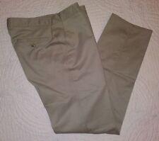 The Limited Khaki Flat Front Pants Khakis Mens 32 x 32 NEW
