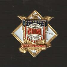 National League Metal Pin Pinback - MLB - VG