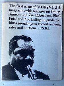 JAZZ: 'STORYVILLE MAGAZINE' No. 1, 1965, RARE!