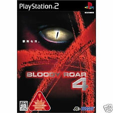 Bloody Roar 4 PS2 Import Japan Playstation2