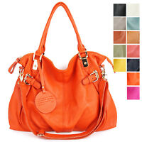 New GENUINE LEATHER purse handbag HOBO TOTE SHOULDER Bag [WB1133]