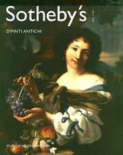 Sotheby's Dipinti Antichi Milano Sale Auction Catalog 2004