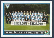 MERLIN-2007-F.A.PREMIER LEAGUE 07- #054-BLACKBURN ROVERS TEAM PHOTO