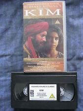 Based On The Rudyard Kipling Novel. KIM VHS VIDEO. Peter O'Toole. DRAMA.PAL.PG.