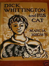 DICK WHITTINGTON AND HIS CAT CHILDRENS BOOK 1950 BROWN