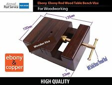 Ebony Copper Woodworking tool wood Carpenter Table Bench Vise Vice Clamp pliers