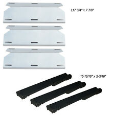 Replacement Grill Burner,Heat Plate 3-pack for Jenn Air 730-0163 720-0163 grills