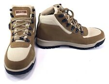 Reebok G-Unit Shoes Mid Nubuck Leather Light Brown Seed Boots Size 6.5 1e7037943