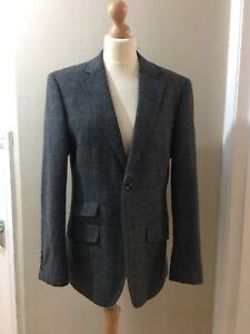 Mens Harvey & Jones Jacket Blazer,size 38R,Good Condition, One Button Missing