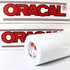 4,44€/m² Plotterfolie Weiß Oracal 621 glänzend 5m x 0,63m glanz Folie für Möbel